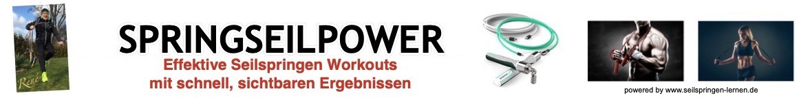 SPRINGSEILPOWER-Seilspringen-Workouts