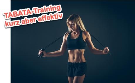 Tabata-Training effektives Intervalltraining